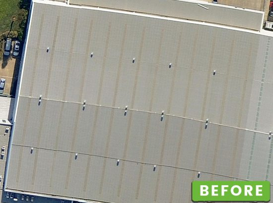 Skylight-Replacement-Dandenong---Before Melbourne Commercial Roofing