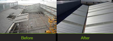 Asbestos Roof Removal | Melbourne Commercial Roofing