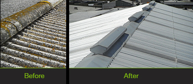 Asbestos Roof Replacement 2 | Melbourne Commercial Roofing