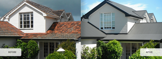 Tiles to Metal Roofs | Melbourne Commercial Roofing