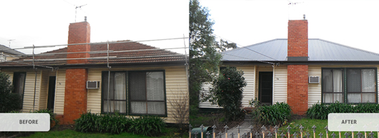 Tiles to Metal Roofs 2 | Melbourne Commercial Roofing