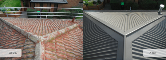 Tiles to Metal Roofs 3 | Melbourne Commercial Roofing
