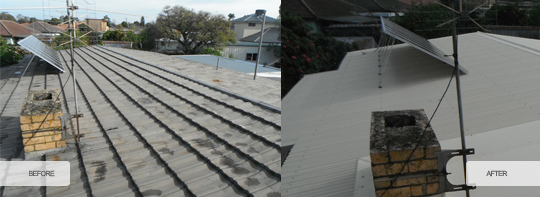 Tiles to Metal Roofs 4 | Melbourne Commercial Roofing