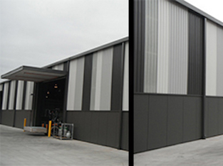 Wall Cladding 3   Melbourne Commercial Roofing